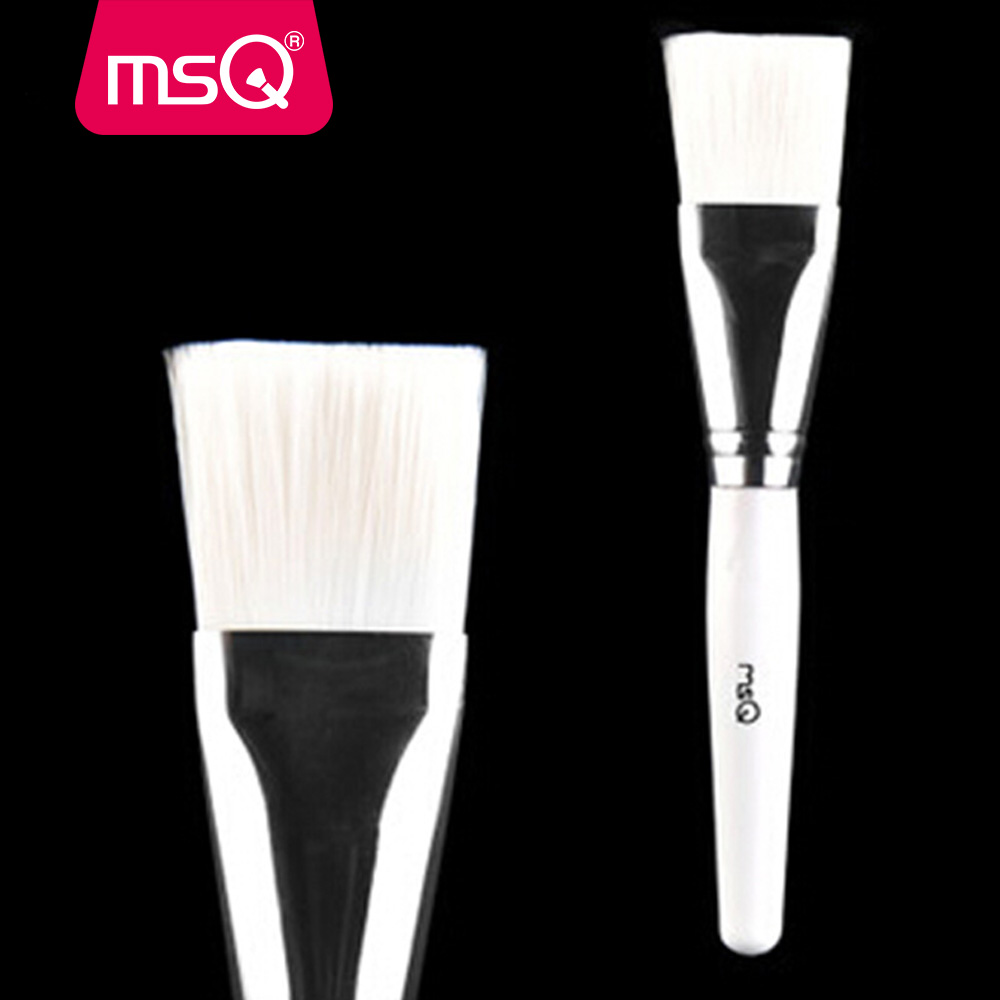 MSQ Professional Makeup Brushes Mask Brush Facial Eye Makeup Face DIY Mask Brushes Cosmetic Beauty Tools 1set new 4 in1 makeup beauty diy facial face mask bowl brush spoon stick tool set