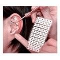 1200 Partículas Sementes Adesivos Remendo Agulha de Acupuntura Auricular Cuidado Da Orelha Da Orelha Da Terapia de Massagem Acupuntura Terapia Chinesa