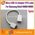 Note 3 N9000 OTG Cable Micro USB 3.0 9 pin Host USB Cable For Samsung Galaxy S5 i9600 Note3 N9000 N9005 Adapter OTG