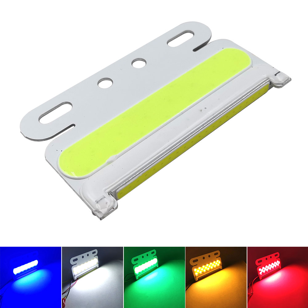 24V LED COB Bulb For Truck Turning Lights Signal Lamp Night Running Lights Warning Lighting Red Blue Green White Yellow Color