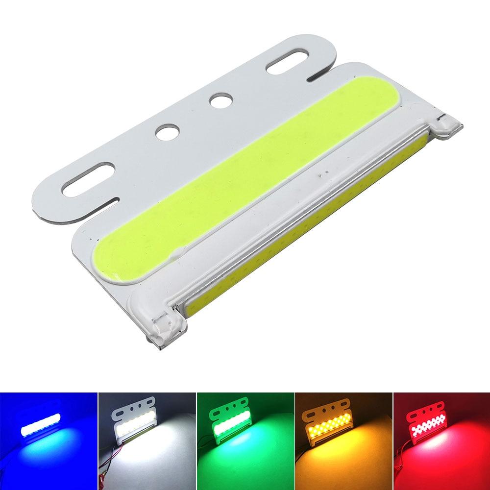 24V LED COB Bulb For Truck Turning Lights Signal Lamp Night Running Lights Warning Lighting Red Blue Green White Yellow Color