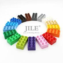 Moc Creative Big Size Building Blocks Bricks 2x4 Large Particles Sets Bulk Accessories Compatible Science and Technology Toys
