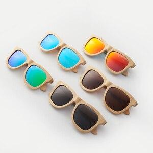 Image 2 - CUUPA, Ретро стиль, деревянные женские солнцезащитные очки, мужские, высокого качества, фирменный дизайн, резная бамбуковая оправа, поляризационные солнцезащитные очки, пляжные очки
