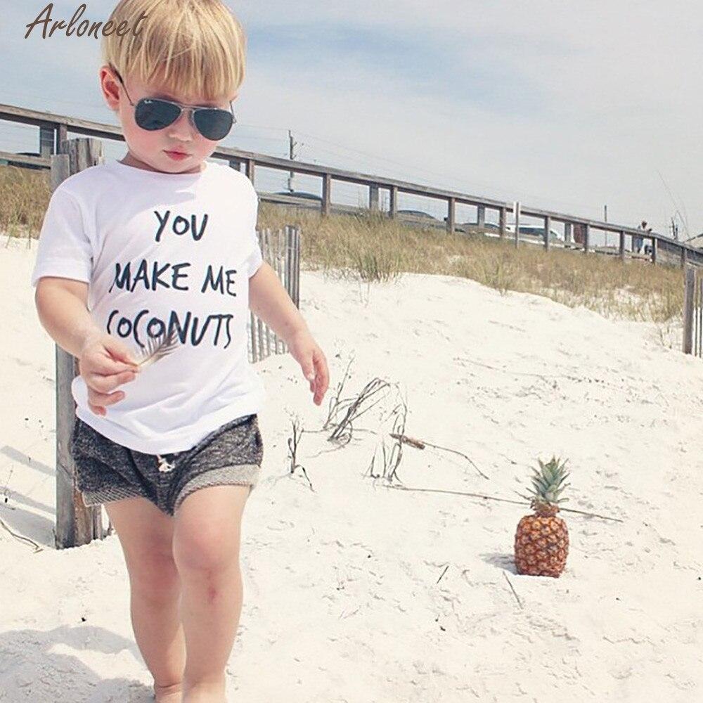 ARLONEET 2018 Mar16 Toddler Kids Girls Boys Fashion Soft Shorts Shorts Clothes Summer Cloth For Girls F20D30 Drop Ship
