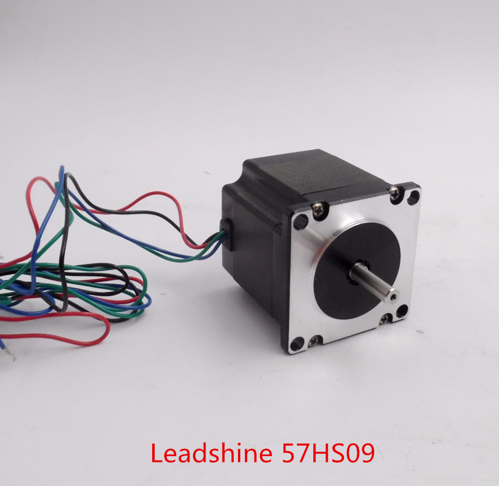 Original Leadshine 57HS09 NEMA23 Stepper Motor 2 Phase CNC Machine 57mm Stepping Motor (Bipolar)Series 2.1A 0.9 N*m New free shipping new big john hollow 12 strings electric guitar with mahogany body for jazz music f 3022