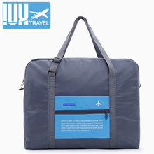 Fashion Women Luggage Travel Bag WaterProof Folding Bags Large Capacity Unisex Packing  Nylon Handbags For Men Wholesale Price big fashion waterproof travel bag large capacity bag women nylon folding bag unisex luggage travel handbags