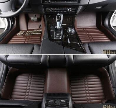 Myfmat nouveau personnaliser voiture tapis de sol en cuir pied tapis auto tapis pour cc passat jetta polo beetle âme cerato ix35 accessoires