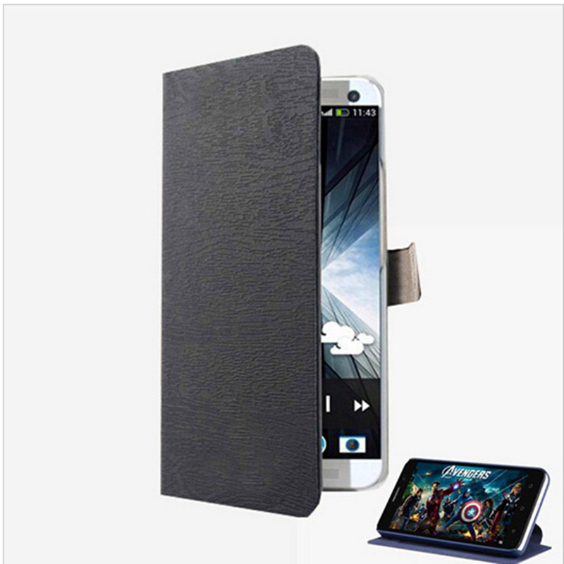 High Quality luxury wallet PU Leather Case For Fly IQ4415 Quad ERA Style 3 Flip Cover cases with credit card holders 6 Colors