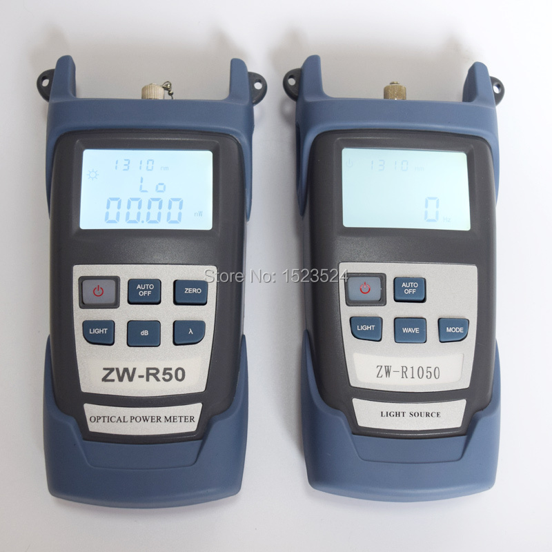 섬유 광학 멀티 미터 -50 ~ + 26dBm 소형 섬유 광 파워 - 통신 장비 - 사진 2