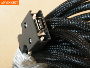 14pins Data Cable 6-meters Wide Format Printer cable  for Allwin Human Inkjet Printer Konica KM512 42pl Spare Parts