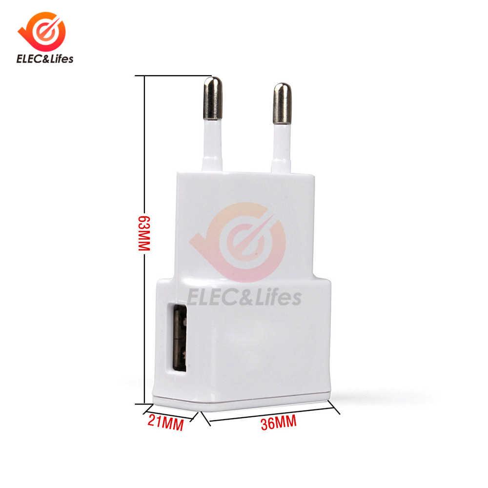 Universal AC Power Wand Ladegerät 5V 2A USB Reise Handy Ladegerät Adapter EU UNS Stecker Für iPhone Samsung xiaomi Huawei iPad