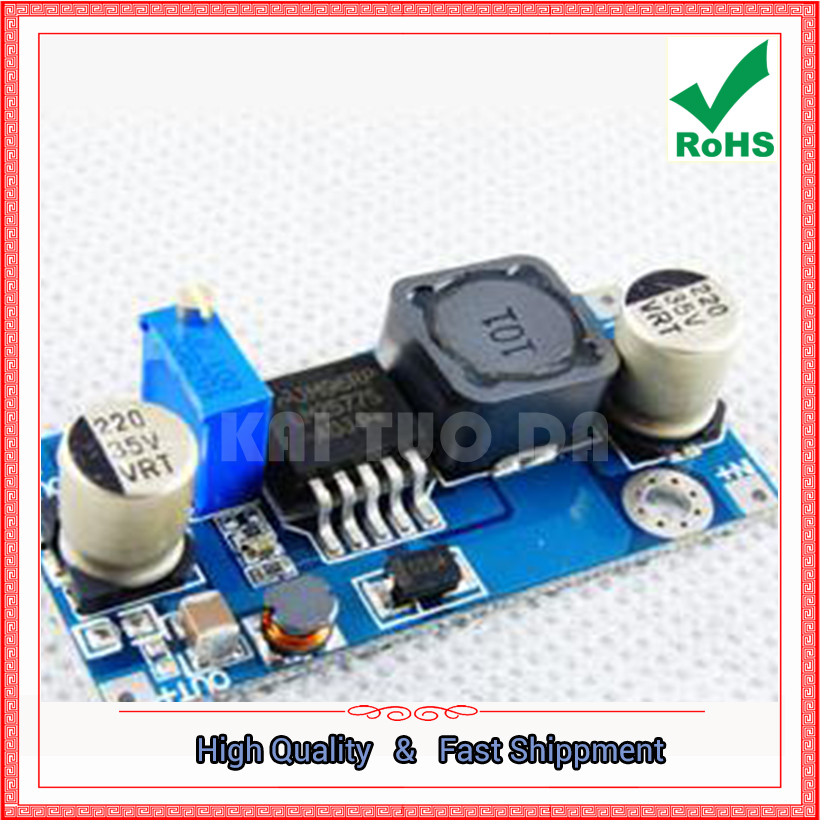 Free Shipping 2pcs LM2577 DC-DC step up Adjustable Power Supply High Efficiency Boost Module Booster board
