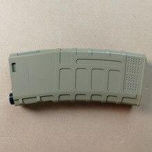 Army Green Magazine For Gun Accessories Jinming JM 8 Scar Under Elastic Clips  HK416 Water Gel Ball Blaster Parts