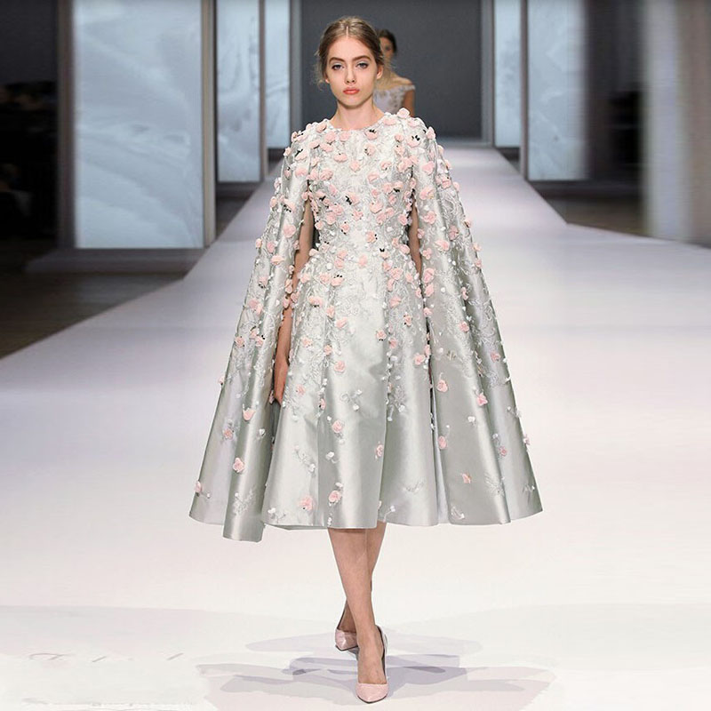 Evening Dresses with Capes