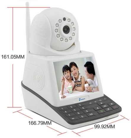 New!!! Indoor Security Baby Monitor Ip Camera, Wireless Wifi Alarm IP Camera, Video gsm Alarm