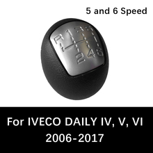 5 speed 6 Car Gear Shift Knob Auto Handle Shifter For IVECO DAILY IV V VI 2006 to 2017 Manual Lever