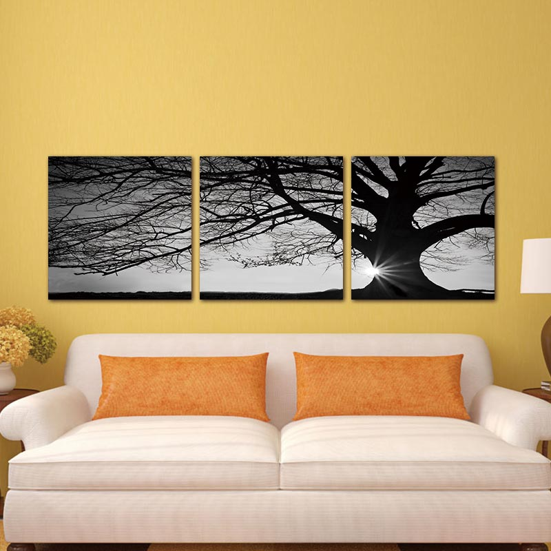 Canvas Painting Wall Art Home Decor For Living Room 3 Panel Modern ...