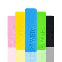 Titular de Armazenamento Rígido com Interface 18650 Bateria Caso BOX Colorido de Plástico Saída USB Como UM Banco Potência Moda