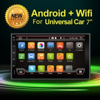 Dual Core 1 6GHZ Two Din 6 2 Inch Android 4 2 Universal Car DVD Player