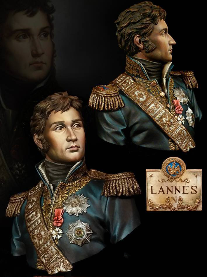1/10 Marshal Lannes Bust Soldier   Toy Resin Model Miniature Kit Unassembly Unpainted