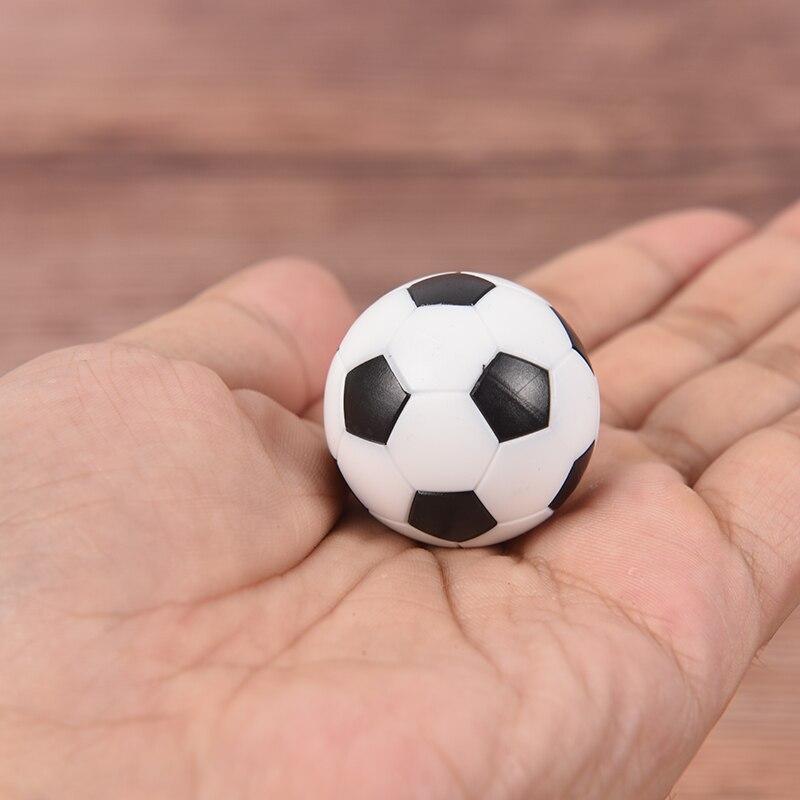 NEW 2pcs 32mm Black And White Premium Material Resin Foosball Table Soccer Table Ball Football Balls Baby Foot Fussball
