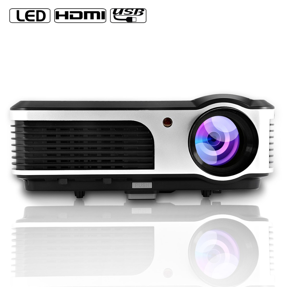 Caiwei Home Use Dvb T2 Projector Led Lcd Digital Tv: CAIWEI A5(AD) Lcd LED Projector 3800 Lumens WIFI Full HD