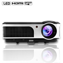 CAIWEI A5 (AD) Lcd LED Proyector 3800 Lúmenes WIFI Full HD DVB-T HDMI USB VGA Video Home Cinema Proyector Proyector Beamer