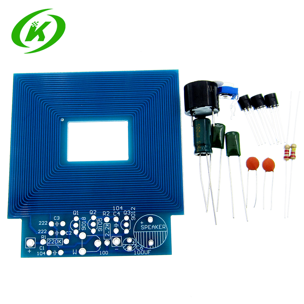Detail Feedback Questions About Diy Kits Metal Detector Scanner Circuit Unassembled Kit Electroniqu Project 3 5v Suite Trousse Board Module Electronic Part On
