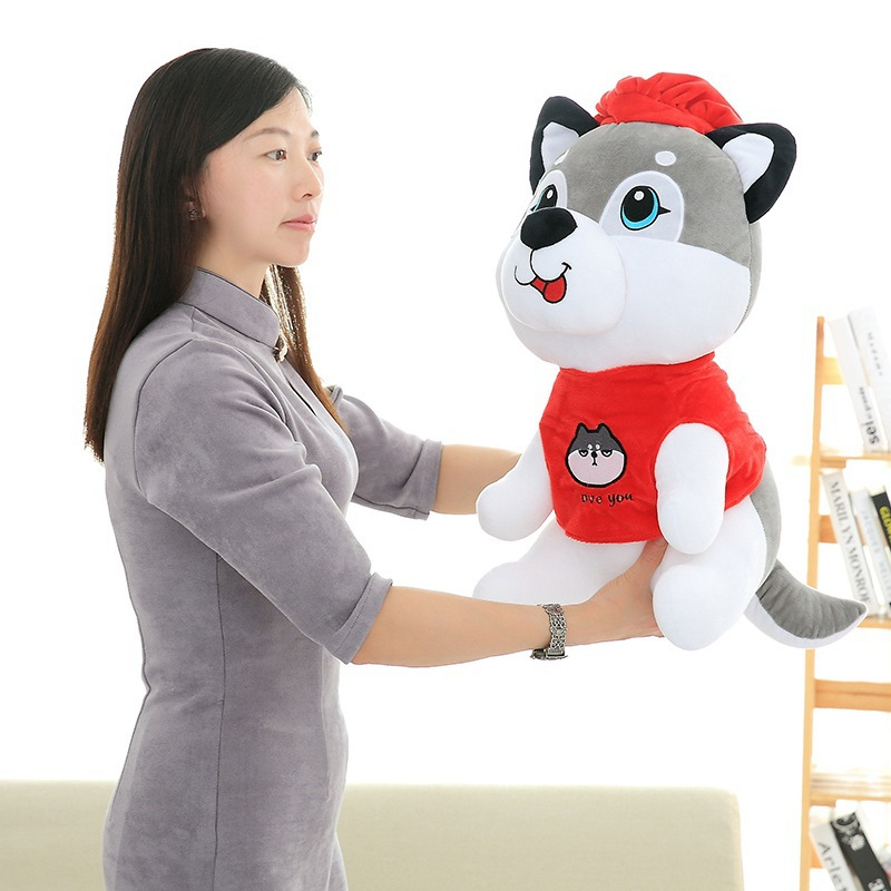 Stuffed animals plush soft toy kawaii Husky doll plush toy soft dog birthday gift plush dog girlfriend gift birthday gift