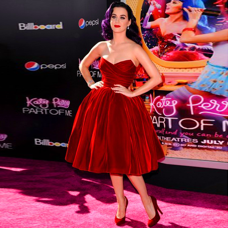 Online Buy Wholesale katy perry red carpet dresses from China katy ...
