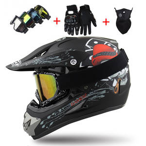 Moto Capacete Moto Casco Off-road Cartoon Children Motorcycle Helmet