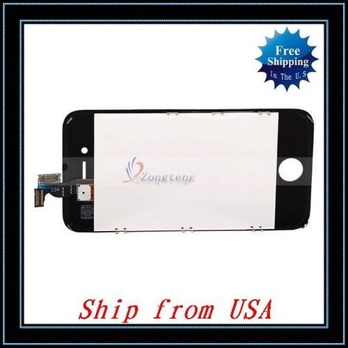 Free Shipping + Wholesale 5pcs/lot LCD Touch Screen Assembly For iPhone4G CDMA Version Ship from USA-87001833