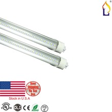 25pcs lot UL DLC T8 LED Tube Light 9W 2FT 18W 4ft SMD2835 48 96leds pc
