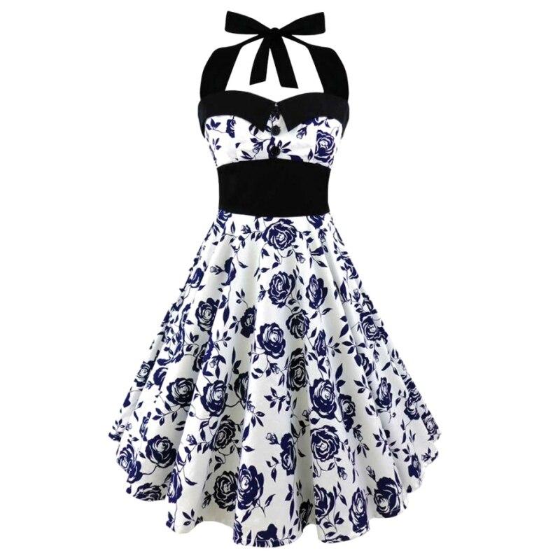 Enfant Large Size Printed Dress Women Punk Strapless Halter Party Dresses Bowknot Self Gothic Dress Clothing