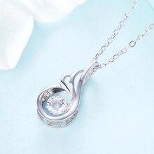 Elegant Shiny Polished Silver Pendant