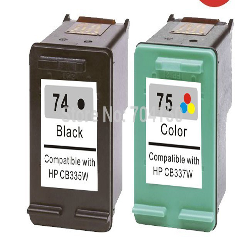 Einkshop compatible for hp 74 74xl 75 75xl Ink Cartridge
