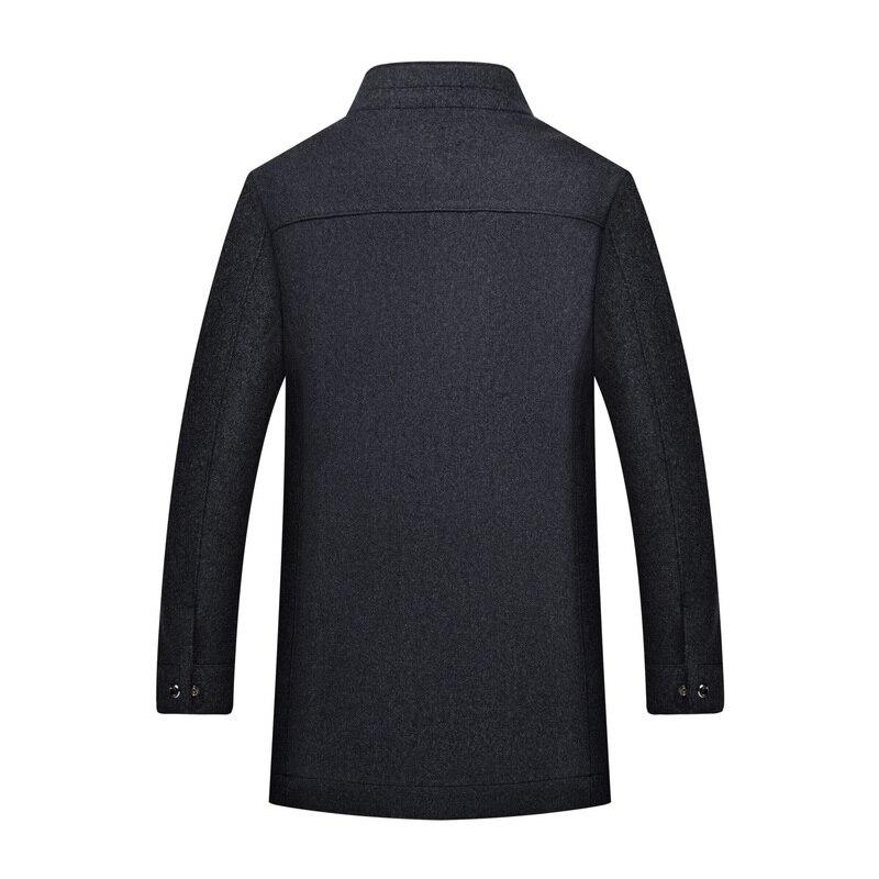 Herbst Winter Wolle Mantel Männer 2018 Neue Mens Verdicken Jacke Business Casaco Masculino Casual Graben Mantel Größe 6XL 7XL 8XL-in Wolle & Mischungen aus Herrenbekleidung bei  Gruppe 3