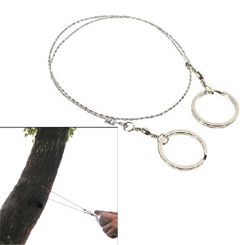 New Arrival Useful Commando Wire Saw Survival Tool Emergency Alloy ...