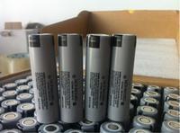 Wholesale New Original Battery For Panasonic 18650 NCR18650BD 3.7V 3200mAh 10A discharge Li Ion Batteries For e cigarette