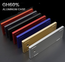 Customized GH60 Full Kit Aluminum Case Shell for xd60 RS60 FACEU60 ETC 60% standard layout mechanical keyboard