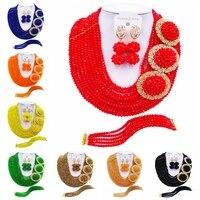 ACZUV African Beads Jewelry Set for Women 10C 3PH001