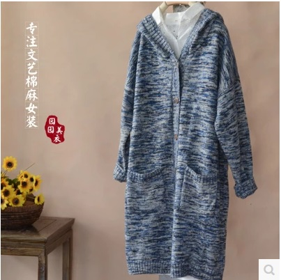 In the autumn of 2016 new products, high-end design original loose big yards of womens sweaters