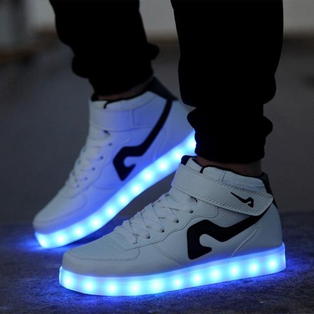 Led Light Shoes For Mens