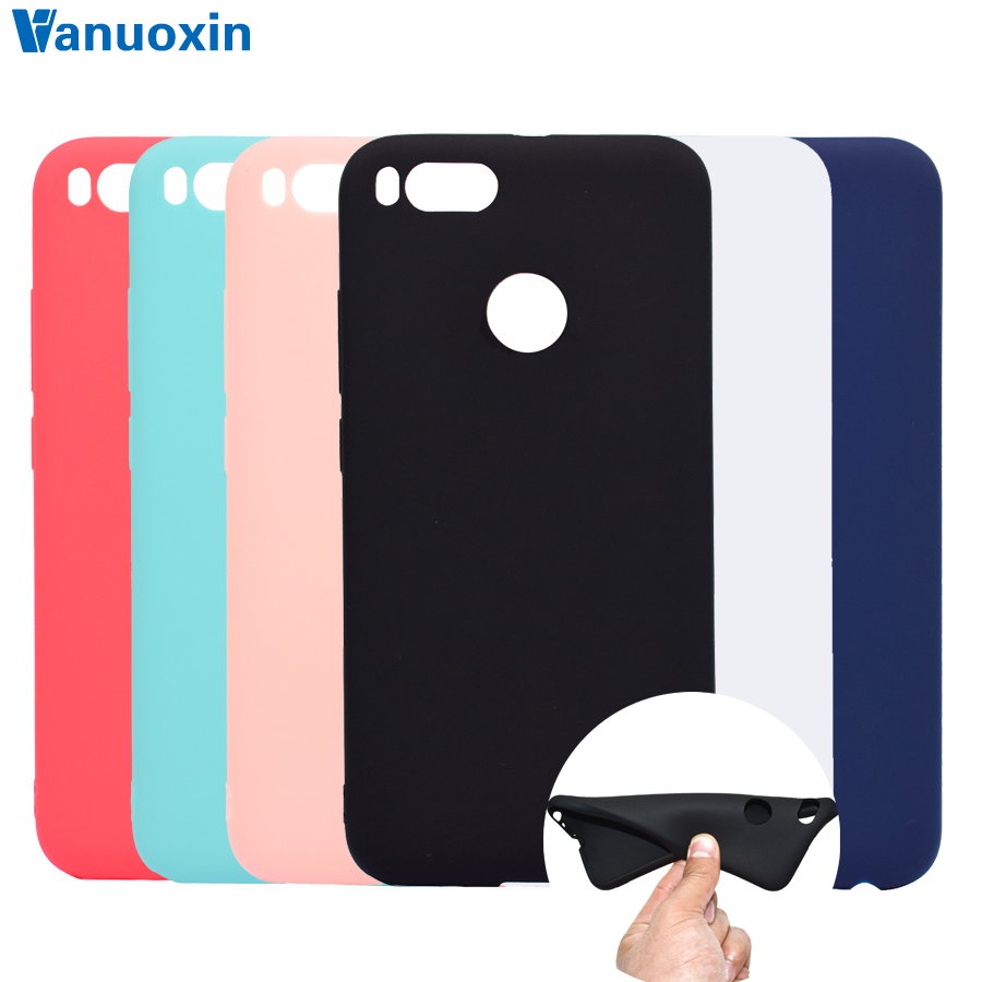 Buy Case Silicon Xiaomi Mi A1 And Get Free Shipping On Cafele 5x Mi5x Mia1 Tempered Glass Clear Hd