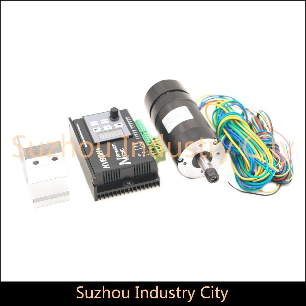 High Quality 400w ER8 CNC Spindle motor NVBDH brushless DC motor brushless motor drive spindle motor