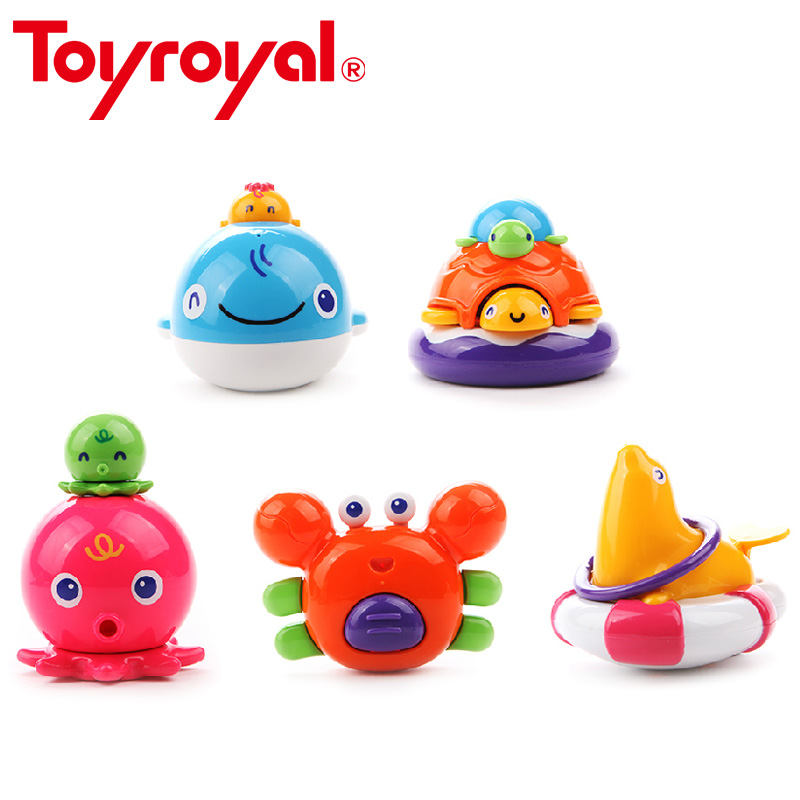 Toys For The Summer : Toyroyal press and squirt bath toys summer play game ocean