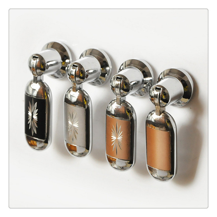 Zinc Alloy Drawer Knob Pull Silver Kichen Cabinet Cupboard Furniture Hardware Handles Knobs Pendant Handle Pulls In Cabinet Pulls From Home Improvement On