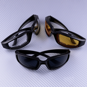 3 Pairs Motorcycle Goggles Spo