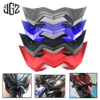 Motorcycle Front Carbon Plastic Cover Head Lights Parts Mouth Shell for YAMAHA AEROX155 NVX155 2017 2018 Modified Accessories