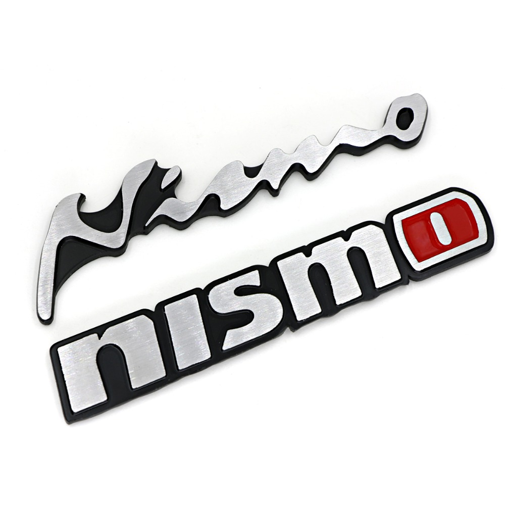 3d aluminum nismo sticker nismo nismo badge emblem. Black Bedroom Furniture Sets. Home Design Ideas